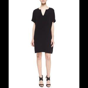 DVF Classic Black Shift Dress